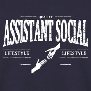 Assistant Social Sweat-shirts - Sweat-shirt Homme
