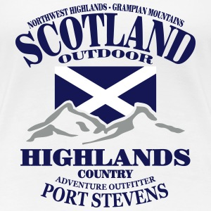 Scotland - Highlands T-Shirts - Women's Premium T-Shirt