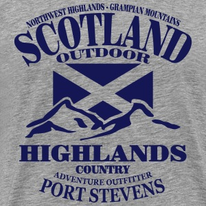 Scotland - Highlands T-shirts - Herre premium T-shirt