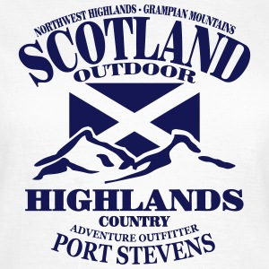 Scotland - Highlands Tee shirts - T-shirt Femme