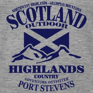 Scotland - Highlands Topper - Premium singlet for kvinner