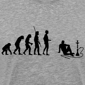 Evolution Shisha T-Shirts - Men's Premium T-Shirt