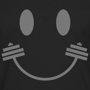 Happy Gym Smiley Langarmshirts - Männer Premium Langarmshirt