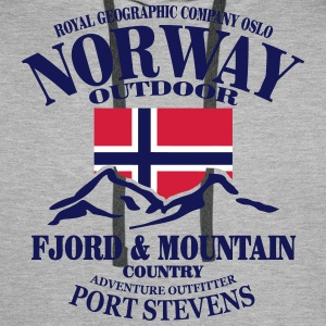 Norway - Fjord & Mountain Gensere - Premium hettegenser for menn