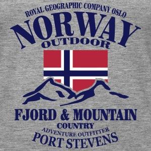 Norway - Fjord & Mountain Tops - Women's Premium Tank Top