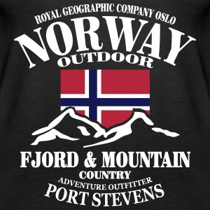 Norge - Norway - Norwegen - Berge - wandern Tops - Frauen Premium Tank Top