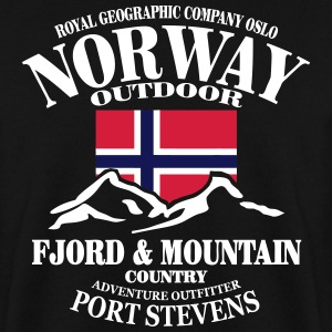 Norway - Fjord & Mountain Felpe - Felpa da uomo
