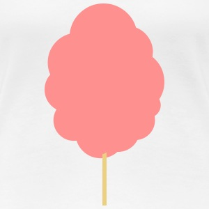 Cotton candy T-shirts - Vrouwen Premium T-shirt