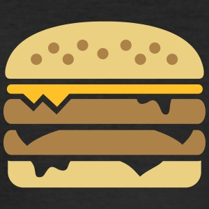 Burger T-Shirts - Männer Slim Fit T-Shirt