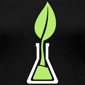 Test tube leaf T-Shirts - Women's Premium T-Shirt