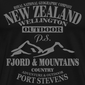 New Zealand T-shirts - Premium-T-shirt herr