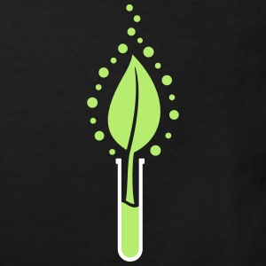 Test tube leaf Shirts - Kids' Organic T-shirt
