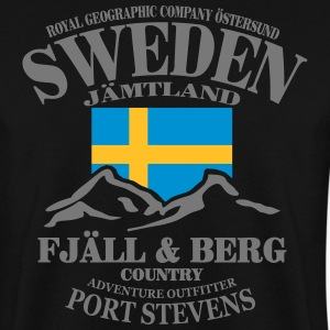 Schweden - Sweden - Elk - Elch - Wandern Sweat-shirts - Sweat-shirt Homme