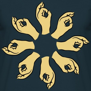Hands asshole hole ring T-Shirts - Men's T-Shirt
