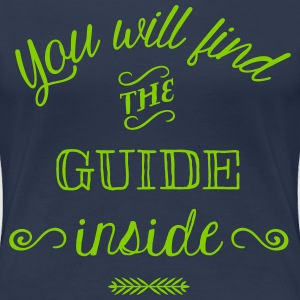 Find the Guide Inside T-Shirts - Women's Premium T-Shirt