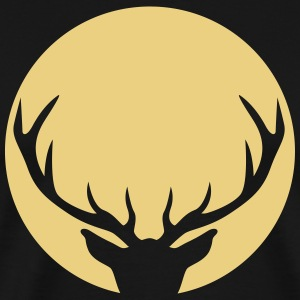 Stag in a circle T-Shirts - Men's Premium T-Shirt