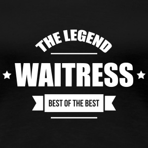 Waitress T-Shirts - Frauen Premium T-Shirt