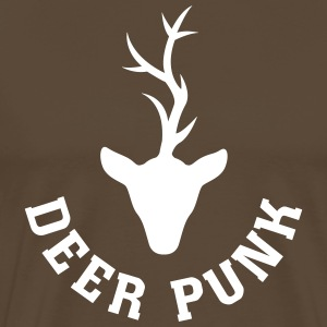 Punk Stag Tee shirts - T-shirt Premium Homme