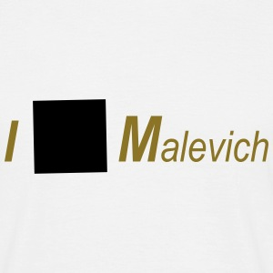 I love Malevich T-Shirts - Men's T-Shirt