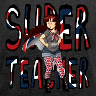 Motif ~ Tee-shirt Super Teacher