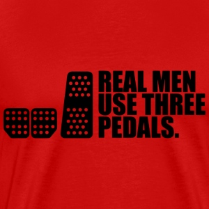 REAL MEN Shirt - Männer Premium T-Shirt