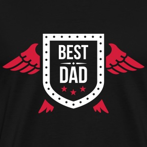 Best Dad T-shirts - Herre premium T-shirt