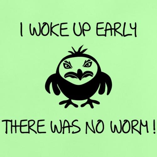 early angry bird frühe vogel wurm