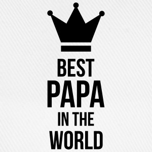 Best Papa in the world ! Caps & Mützen - Baseballkappe