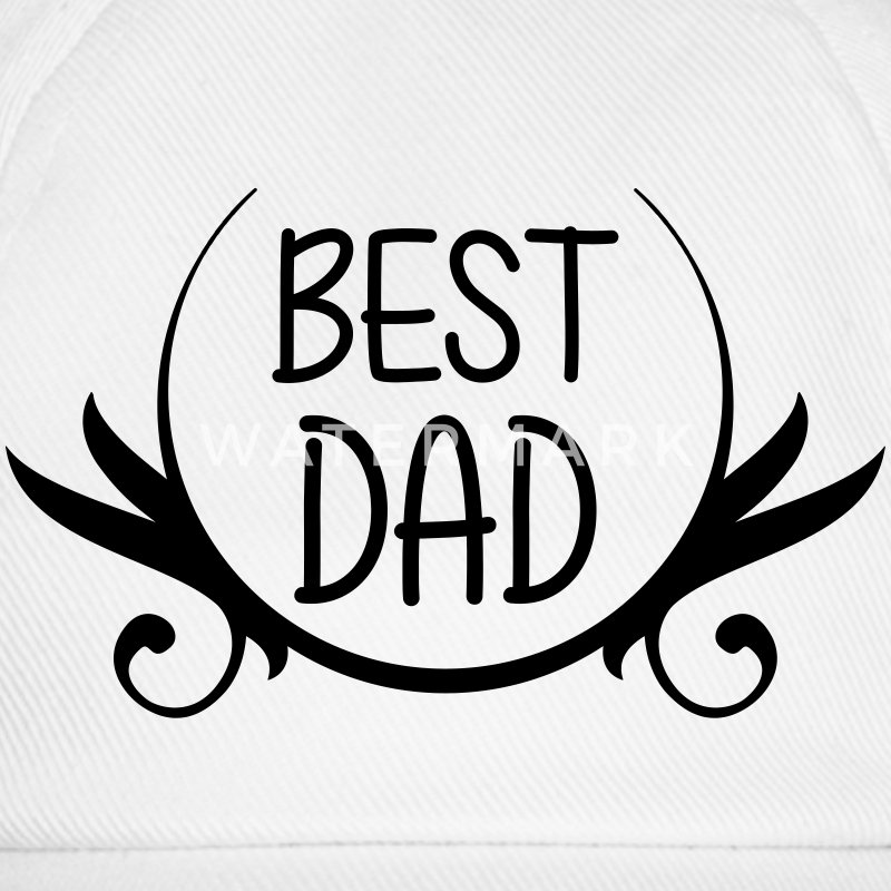 Best Dad Caps & Mützen - Baseballkappe