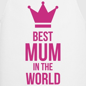 Best Mum in the World ! Kookschorten - Keukenschort