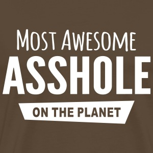 Awesome asshole T-Shirts - Men's Premium T-Shirt