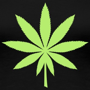 Hemp leaf T-Shirts - Women's Premium T-Shirt