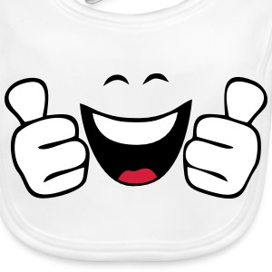 Vector Design Funny Accessories - Baby Organic Bib
