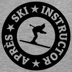 Après-Ski Instructor Quality Seal (monochrome) Long sleeve shirts