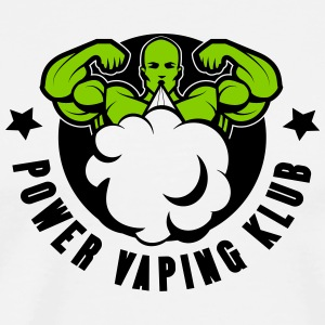 POWER VAPING KLUB 2 couleurs - T-shirt Premium Homme