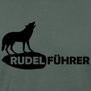 Rudelführer Wolf Alphatier Leitwolf Papa