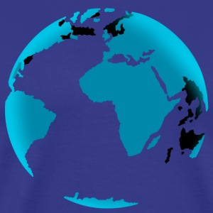 earth T-shirts - Mannen Premium T-shirt
