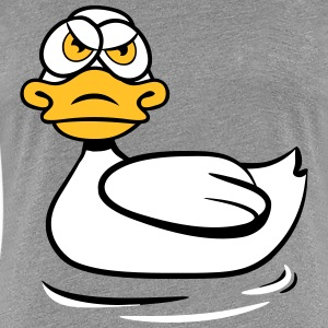 Duck in a bad mood T-Shirts - Women's Premium T-Shirt