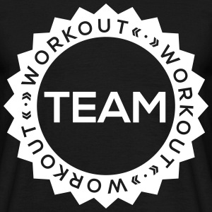 TEAM Workout T-Shirts - Männer T-Shirt