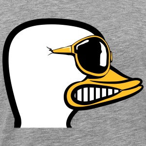 Duck nasty nasty aggressive sunglasses T-Shirts - Men's Premium T-Shirt