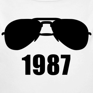 Coole 1987 Sonnenbrille Pullover & Hoodies - Baby Bio-Langarm-Body