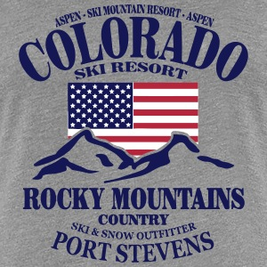 Colorado Ski Resort - United States T-Shirts - Women's Premium T-Shirt
