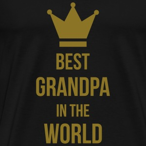 Best Grandpa in the world ! T-shirts - Mannen Premium T-shirt