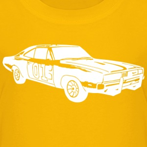 General Lee Dodge Charger - Kinder Premium T-Shirt