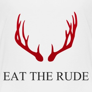 Hannibal Eat the rude - Kinder Premium T-Shirt