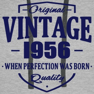 Vintage 1956 Sweat-shirts - Sweat-shirt à capuche Premium pour hommes