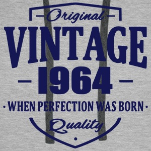 Vintage 1964 Sweat-shirts - Sweat-shirt à capuche Premium pour hommes