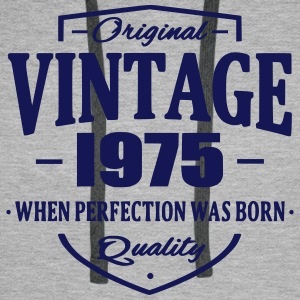Vintage 1975 Sweat-shirts - Sweat-shirt à capuche Premium pour hommes