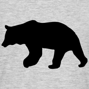 bear - brown bear - hunting - hunter T-Shirts - Men's T-Shirt