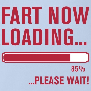 Fart Now Loading.... Shirts - Organic Short-sleeved Baby Bodysuit